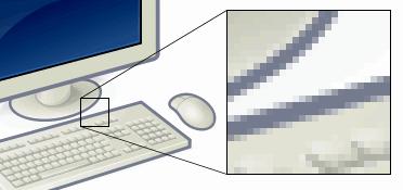 Pixel på pixlar